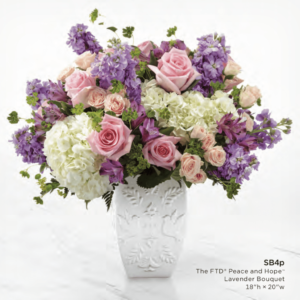 The FTD Peace And Hope Lavender Bouquet SB4p